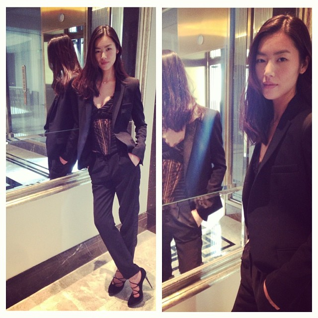 liu wen pic Instagram Photos of the Week | Barbara Palvin, Heidi Klum + More Model Pics