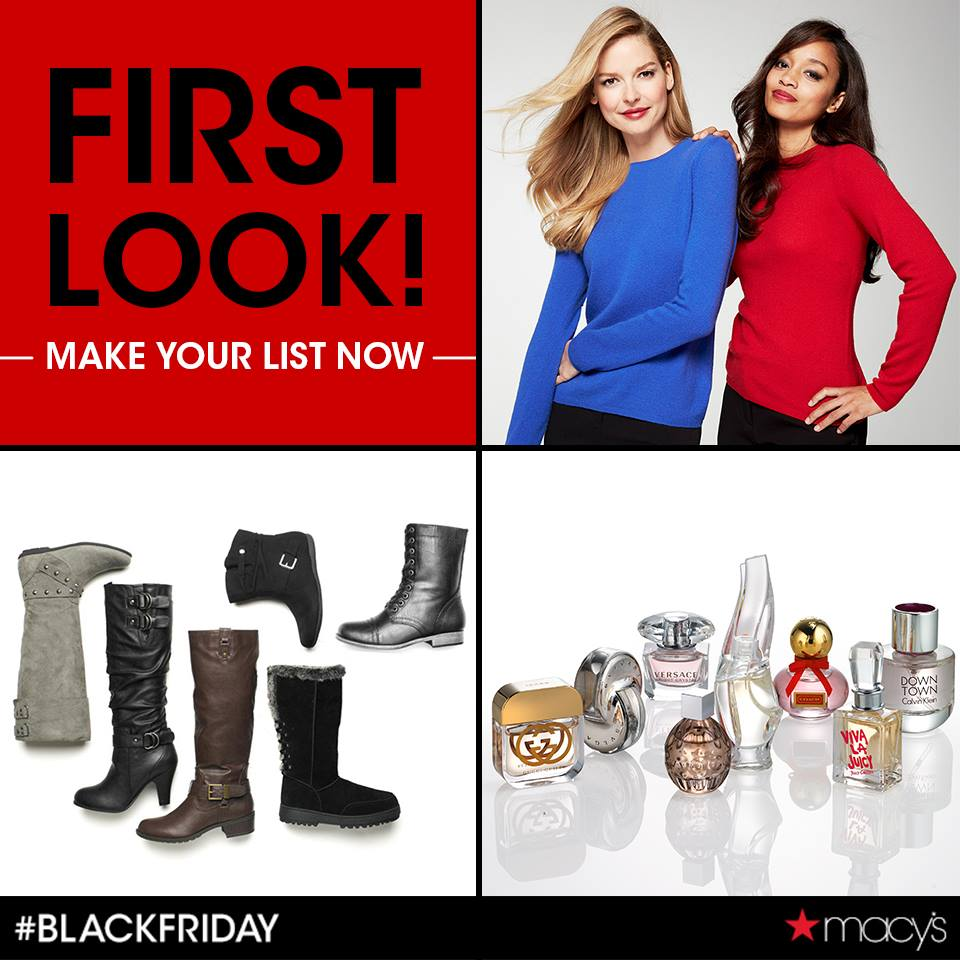Macy's Black Friday 2013 Mailer / Courtesy of Facebook