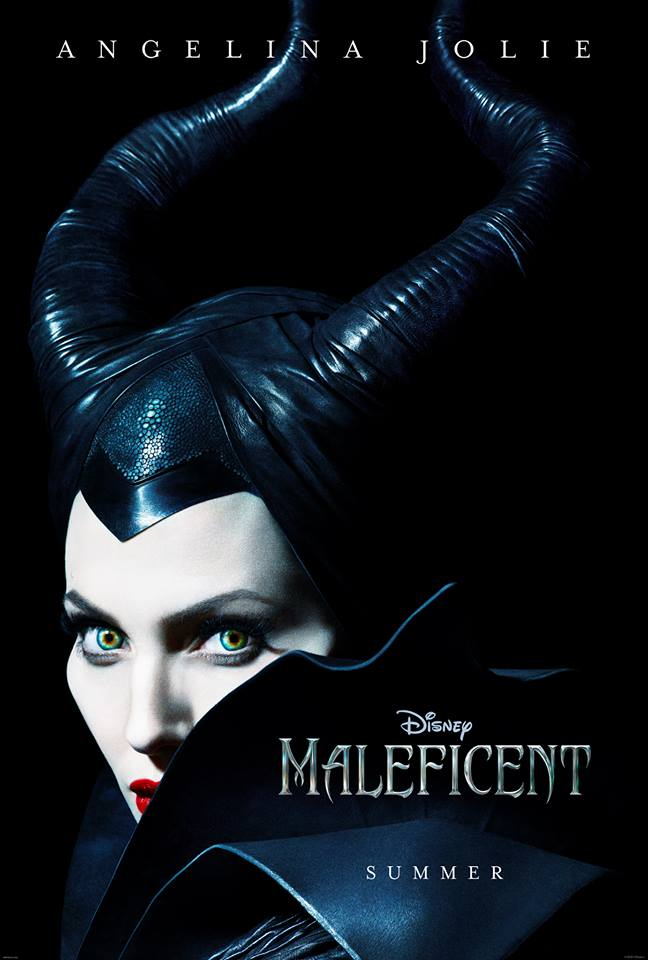 maleficent poster MAC Creating Makeup Line Inspired by Angelina Jolie in Maleficent