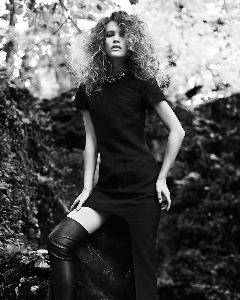 """Malika by Federica Putelli in """"State of Independence"""" for Fashion Gone Rogue"""