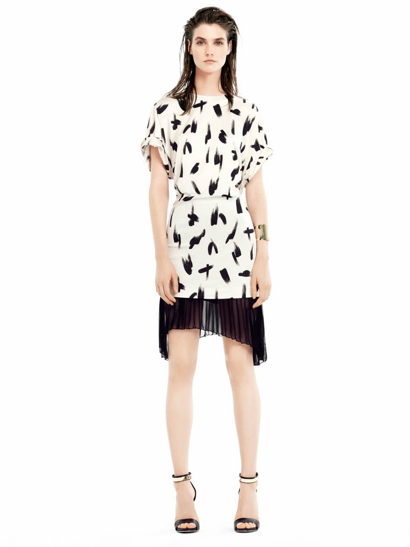 mango spring 2014 5 Manon Leloup Stars in Mango Spring/Summer 2014 Collection