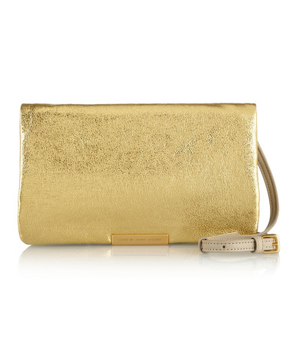 marc jacobs metallic clutch Holiday Gift Guide 2013 | Bags & Accessories