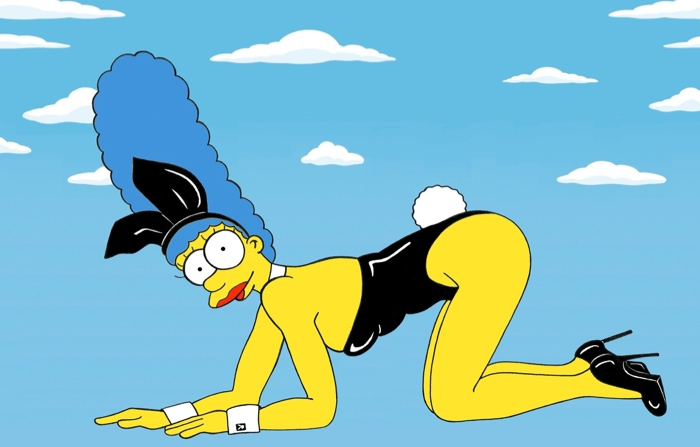 marge simpson style icon1 Marge Simpson Channels Style Icons in aleXsandro Palombo Illustrations
