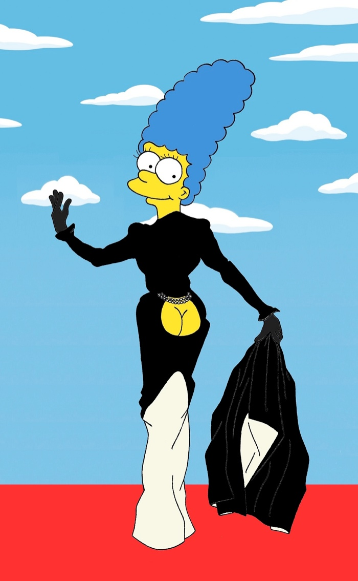 marge simpson style icon11 Marge Simpson Channels Style Icons in aleXsandro Palombo Illustrations