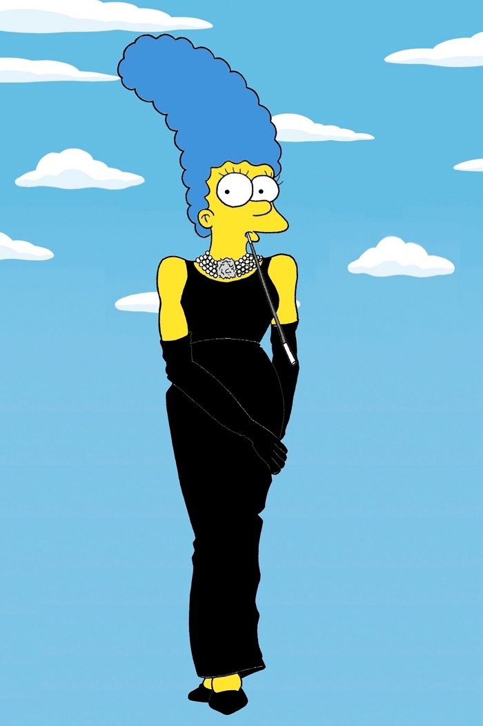 marge simpson style icon9 Marge Simpson Channels Style Icons in aleXsandro Palombo Illustrations