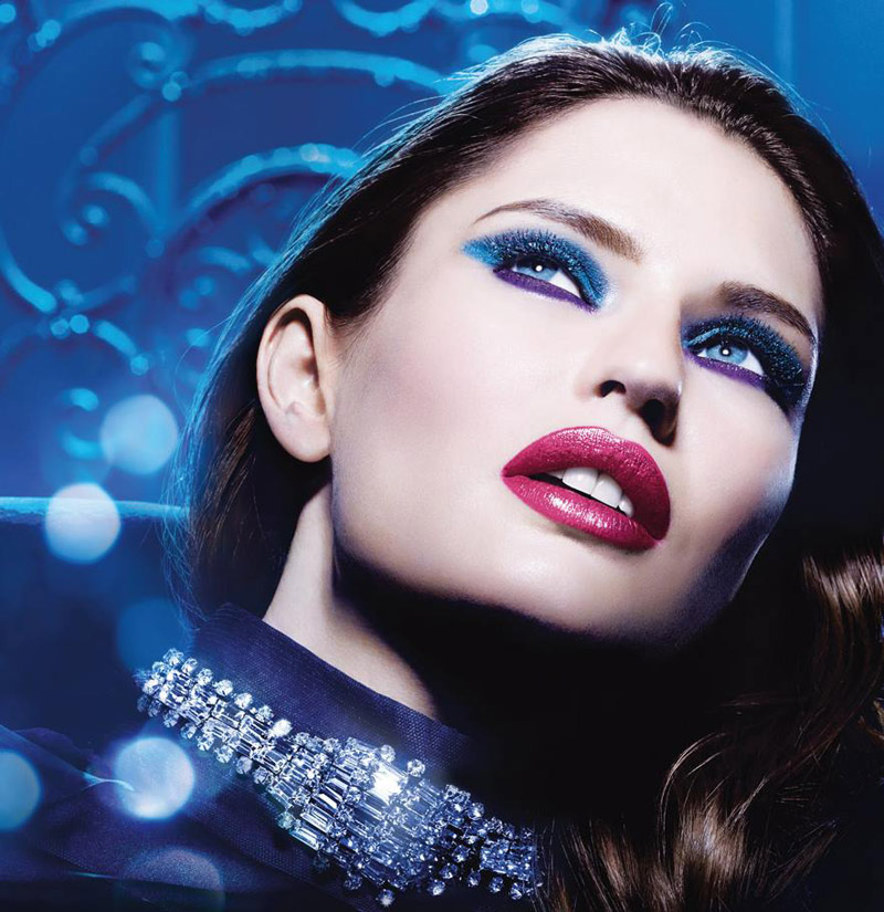 million carats loreal1 Bianca Balti Shines in LOreal Million Carats Holiday Line