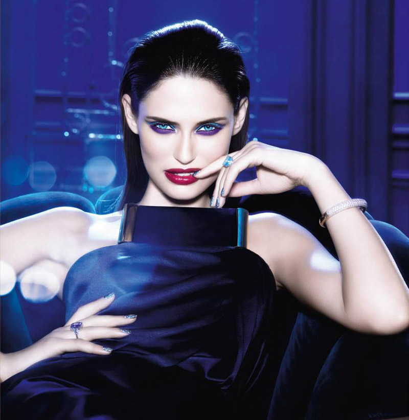 million carats loreal3 Bianca Balti Shines in LOreal Million Carats Holiday Line