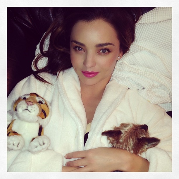 miranda kerr photo Instagram Photos of the Week | Barbara Palvin, Heidi Klum + More Model Pics
