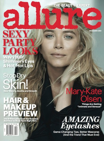 Mary Kate & Ashley Olsen Star in Allure December 2013 by Peter Lindbergh