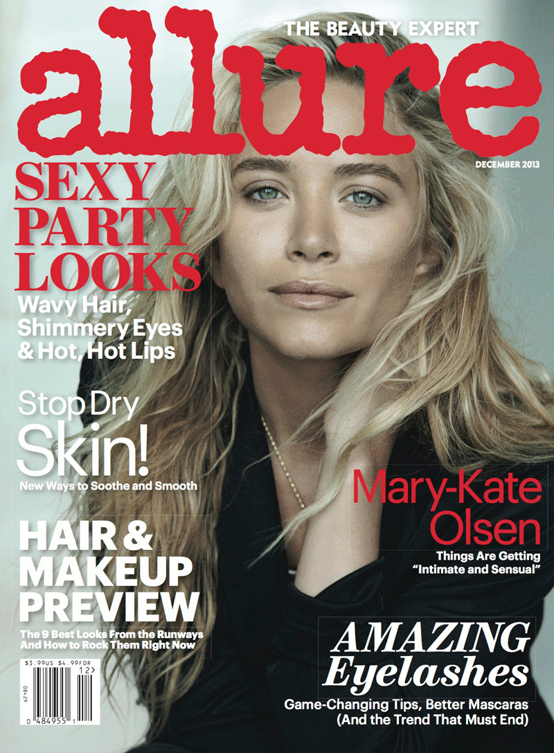 mk ashley lindbergh1 Mary Kate & Ashley Olsen Star in Allure December 2013 by Peter Lindbergh