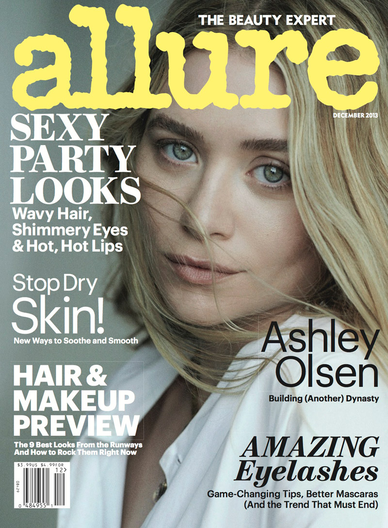 mk ashley lindbergh2 Mary Kate & Ashley Olsen Star in Allure December 2013 by Peter Lindbergh