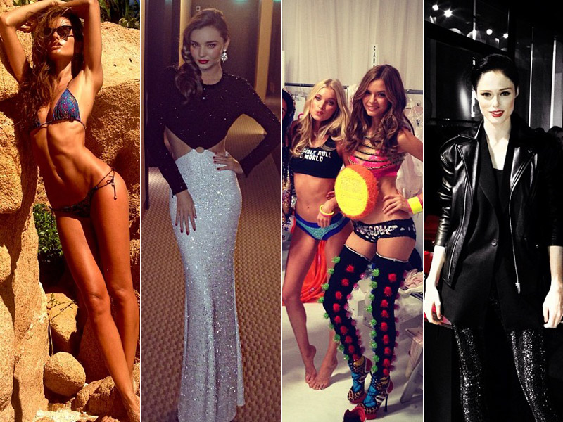 Instagram Photos of the Week | Cara Delevingne, Izabel Goulart + More Model Pics