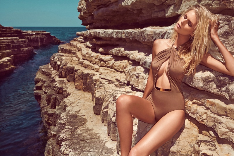 Fabienne Hagedorn Sizzles in Moeva's Spring/Summer 2014 Collection