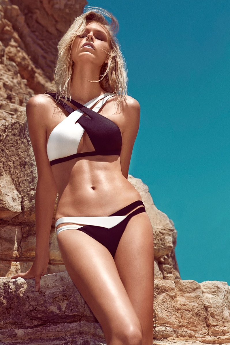 moeva spring 2014 swimwear10 Fabienne Hagedorn Sizzles in Moevas Spring/Summer 2014 Collection