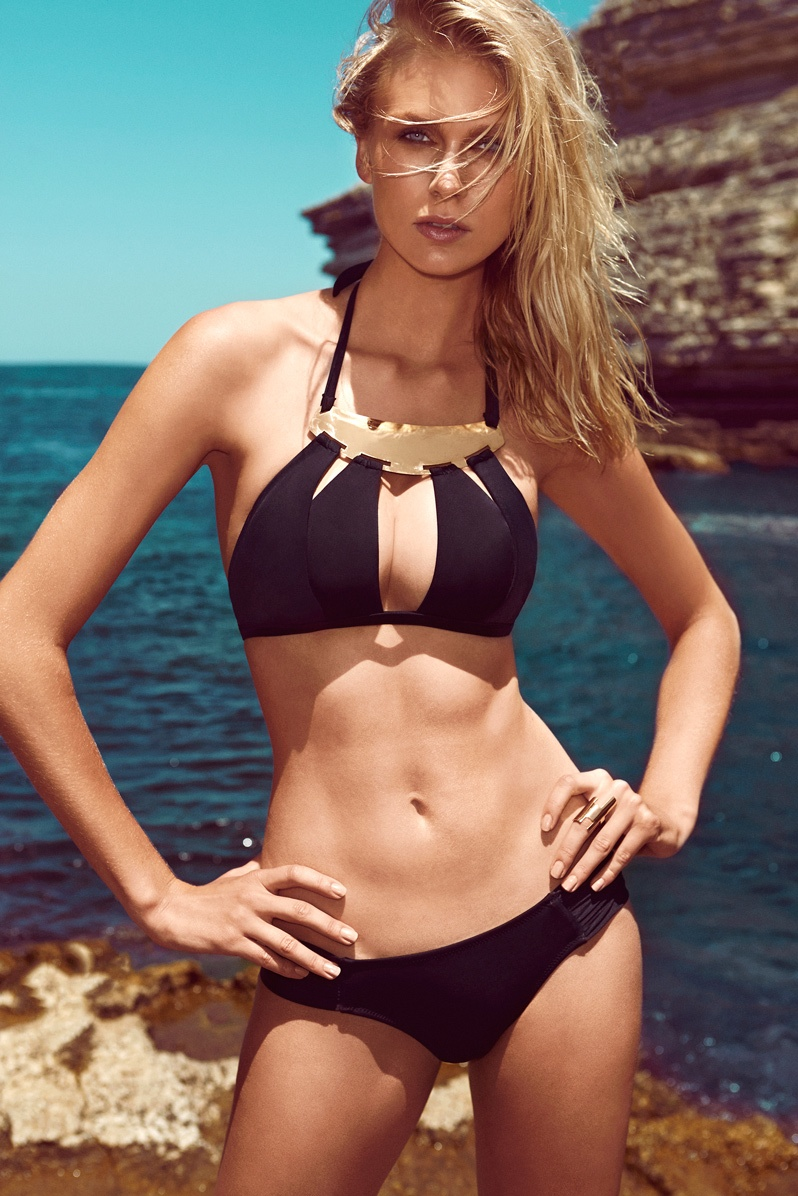 moeva spring 2014 swimwear11 Fabienne Hagedorn Sizzles in Moevas Spring/Summer 2014 Collection