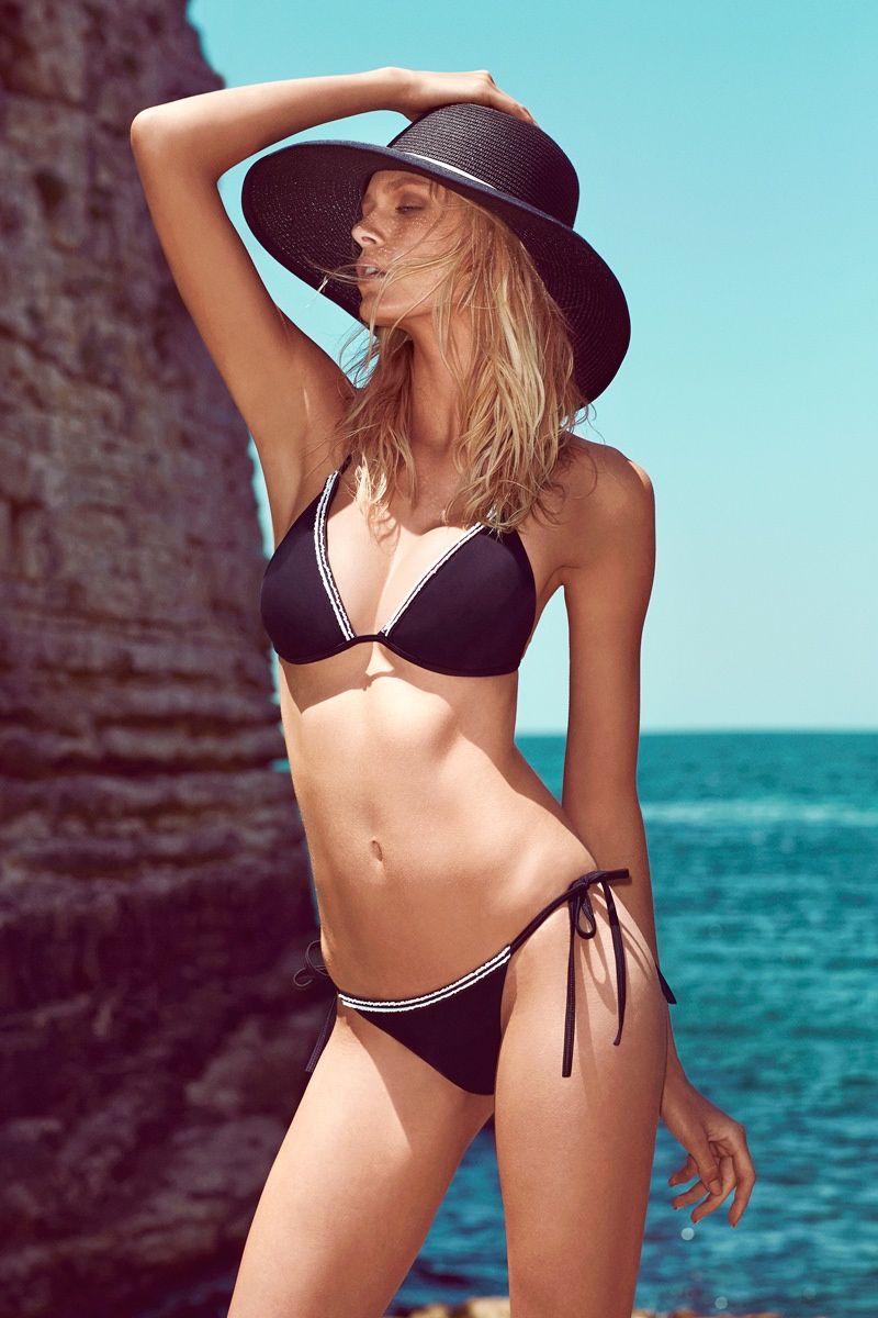 moeva spring 2014 swimwear12 Fabienne Hagedorn Sizzles in Moevas Spring/Summer 2014 Collection