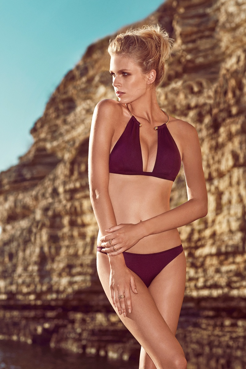 moeva spring 2014 swimwear13 Fabienne Hagedorn Sizzles in Moevas Spring/Summer 2014 Collection