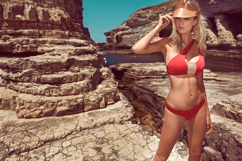 moeva spring 2014 swimwear14 Fabienne Hagedorn Sizzles in Moevas Spring/Summer 2014 Collection