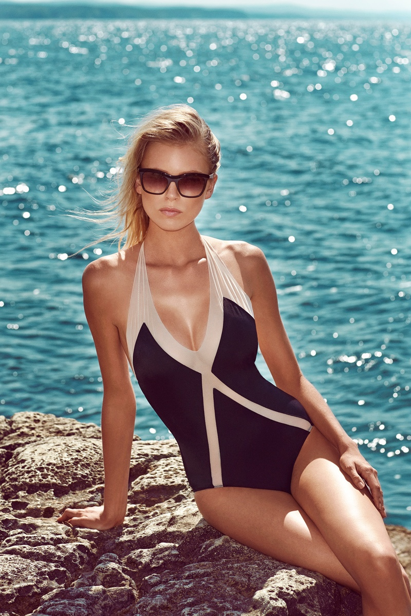 moeva spring 2014 swimwear15 Fabienne Hagedorn Sizzles in Moevas Spring/Summer 2014 Collection