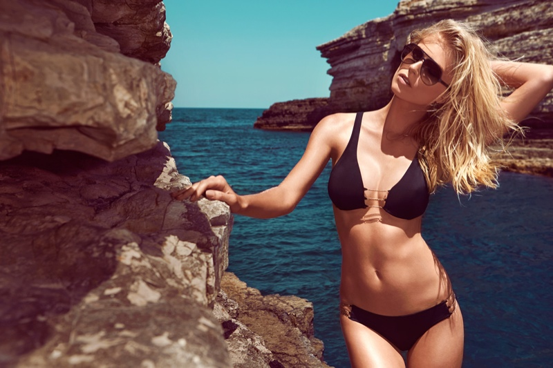 moeva spring 2014 swimwear16 Fabienne Hagedorn Sizzles in Moevas Spring/Summer 2014 Collection