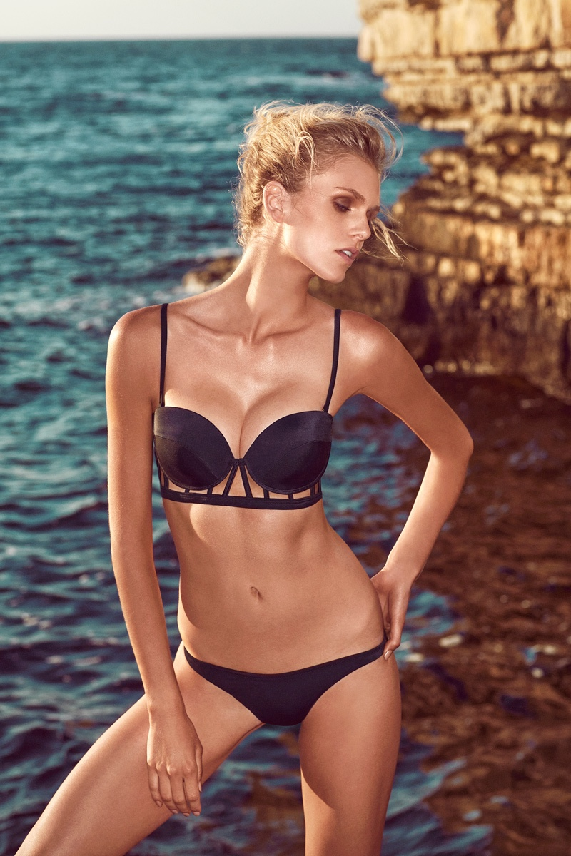 moeva spring 2014 swimwear17 Fabienne Hagedorn Sizzles in Moevas Spring/Summer 2014 Collection
