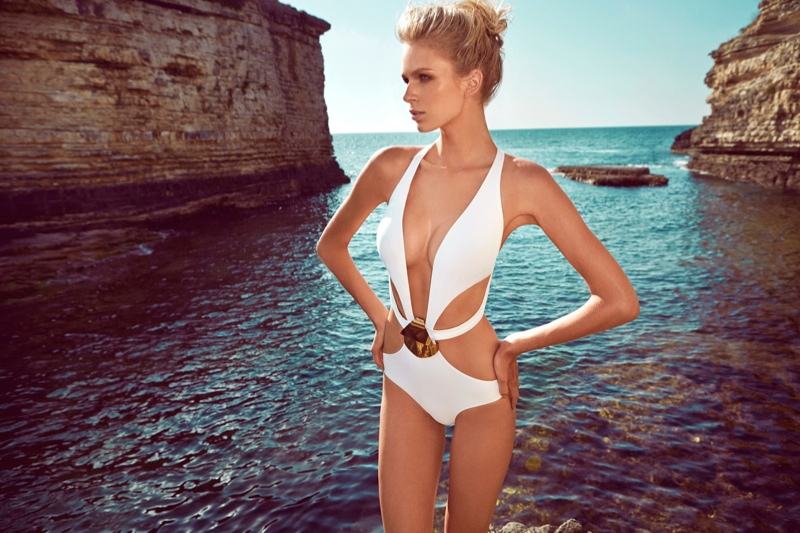 moeva spring 2014 swimwear18 Fabienne Hagedorn Sizzles in Moevas Spring/Summer 2014 Collection