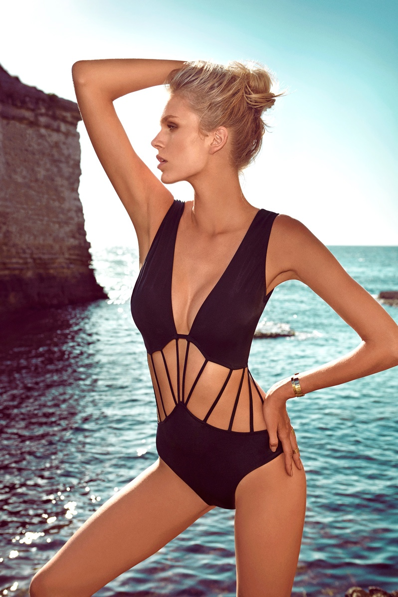 moeva spring 2014 swimwear19 Fabienne Hagedorn Sizzles in Moevas Spring/Summer 2014 Collection