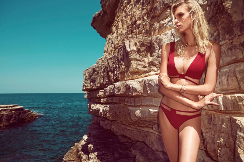 moeva spring 2014 swimwear2 Fabienne Hagedorn Sizzles in Moevas Spring/Summer 2014 Collection