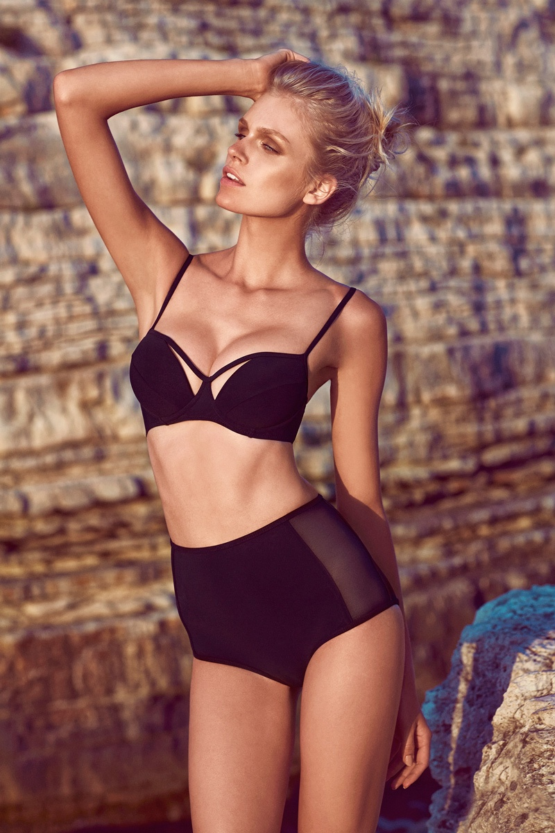 moeva spring 2014 swimwear21 Fabienne Hagedorn Sizzles in Moevas Spring/Summer 2014 Collection