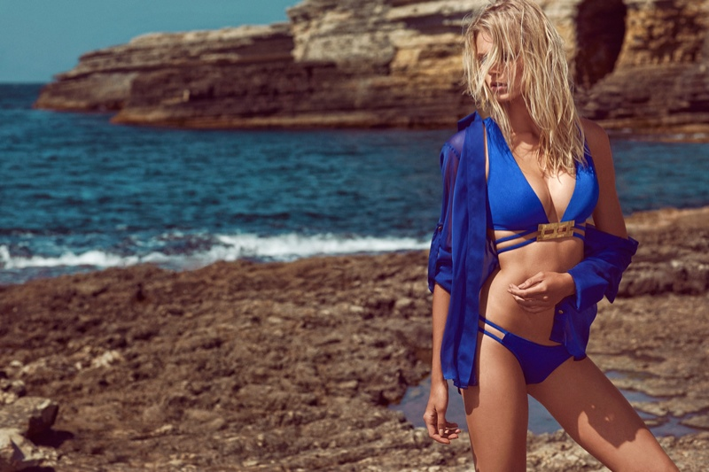 moeva spring 2014 swimwear22 Fabienne Hagedorn Sizzles in Moevas Spring/Summer 2014 Collection