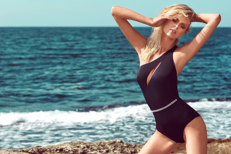 moeva spring 2014 swimwear23 Fabienne Hagedorn Sizzles in Moevas Spring/Summer 2014 Collection