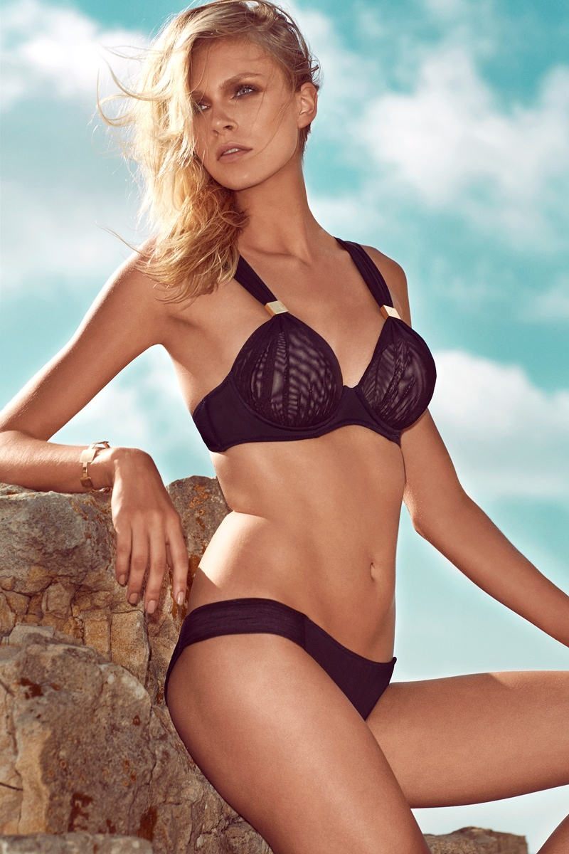 moeva spring 2014 swimwear24 Fabienne Hagedorn Sizzles in Moevas Spring/Summer 2014 Collection
