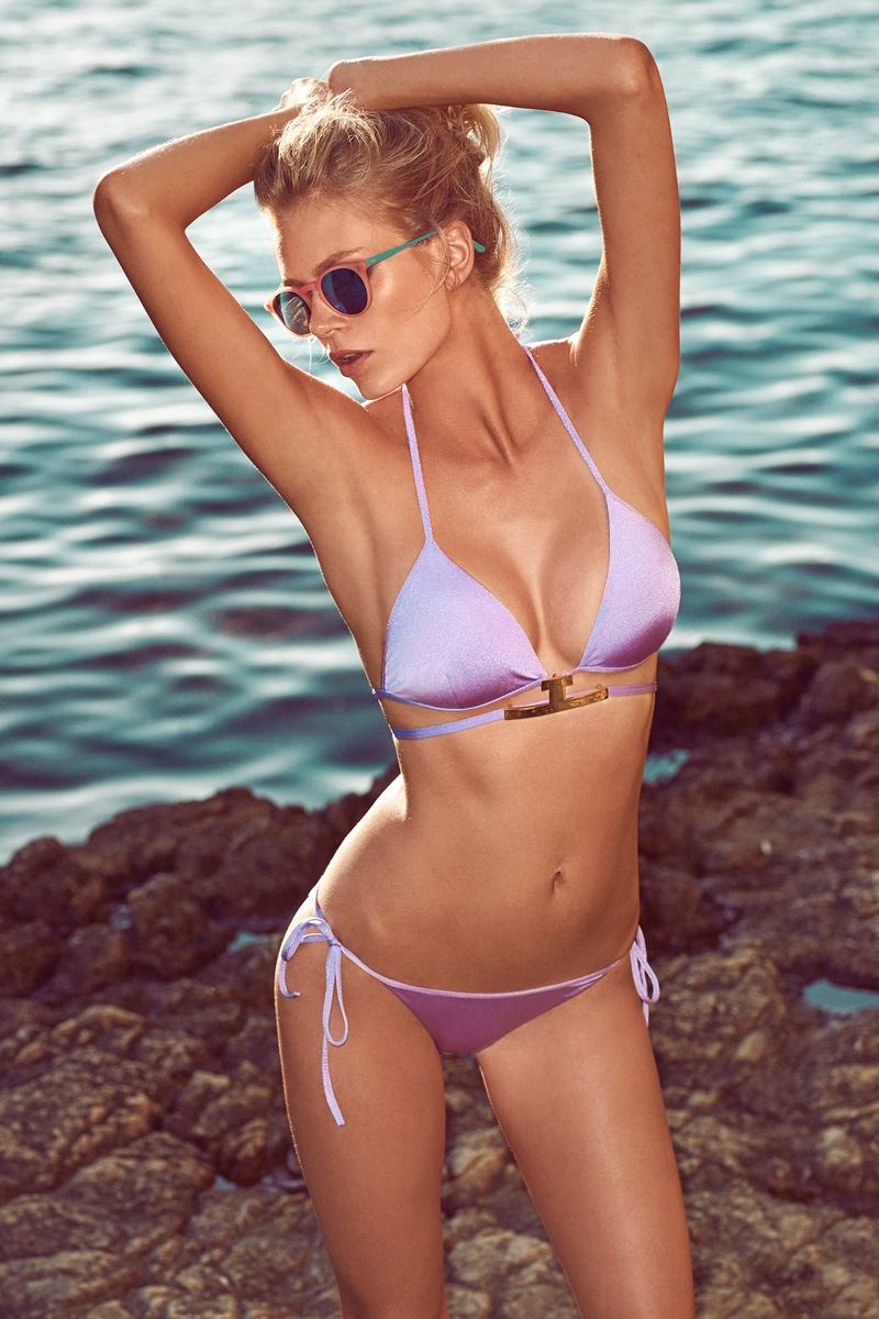 moeva spring 2014 swimwear4 Fabienne Hagedorn Sizzles in Moevas Spring/Summer 2014 Collection