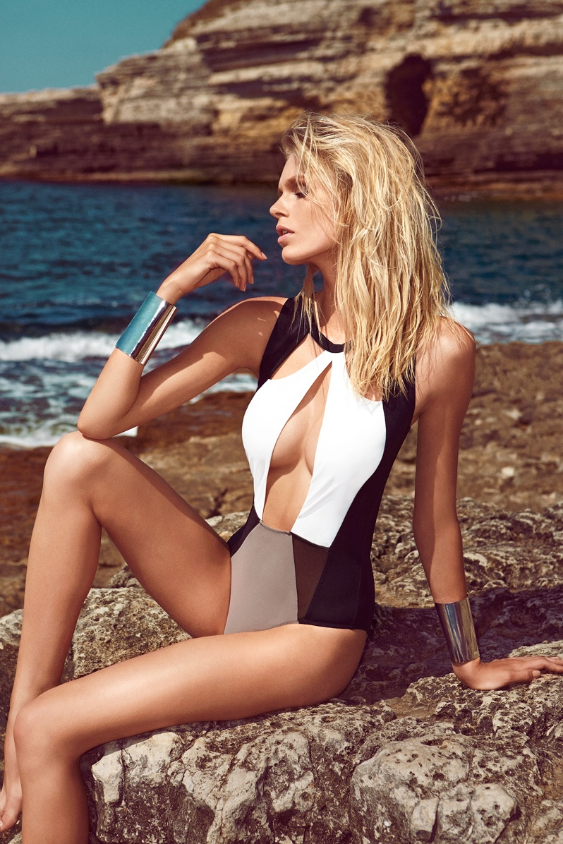 moeva spring 2014 swimwear6 Fabienne Hagedorn Sizzles in Moevas Spring/Summer 2014 Collection