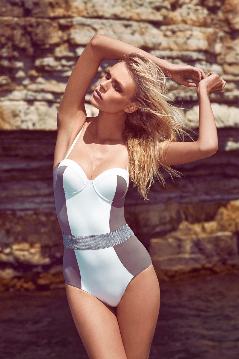 moeva spring 2014 swimwear7 Fabienne Hagedorn Sizzles in Moevas Spring/Summer 2014 Collection
