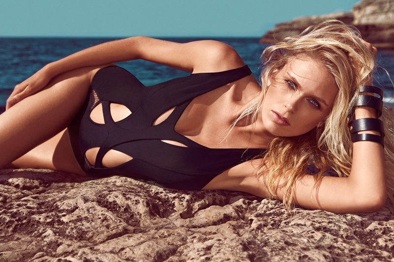 moeva spring 2014 swimwear8 Fabienne Hagedorn Sizzles in Moevas Spring/Summer 2014 Collection