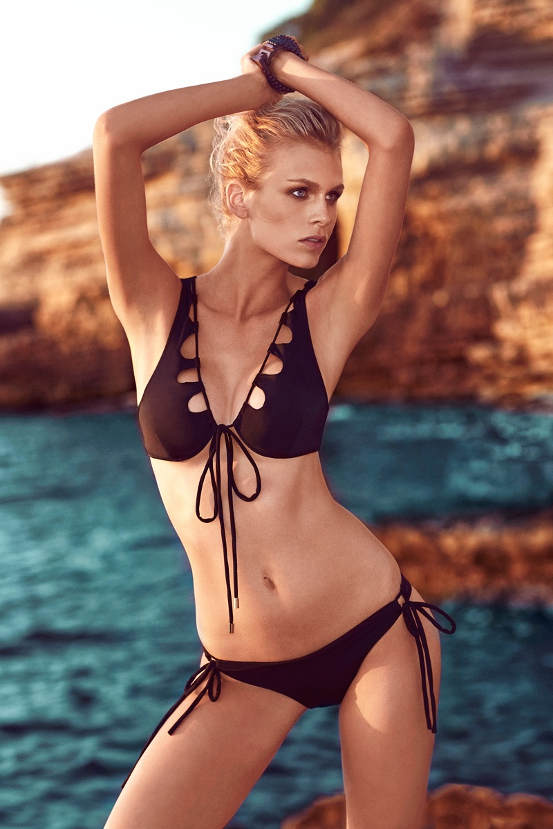 moeva spring 2014 swimwear9 Fabienne Hagedorn Sizzles in Moevas Spring/Summer 2014 Collection