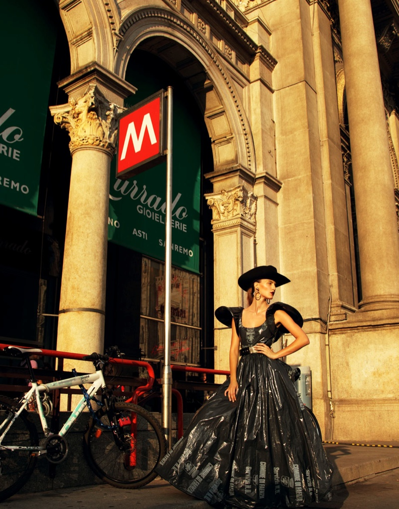 moschino bazaar4 Dasha & Eva Sport Moschino in Harpers Bazaar Russia by Nikolay Biryukov