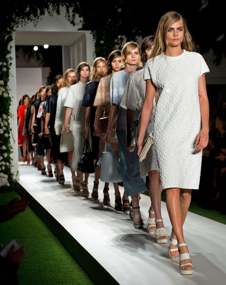 mulberry ss 14 finale Mulberry Not Showing at London Fashion Week in February