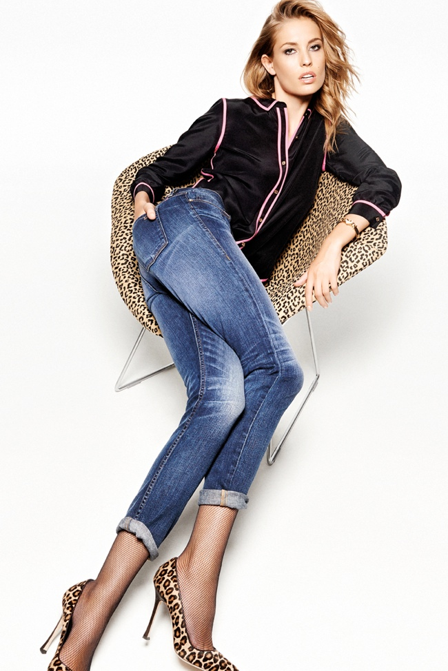 Nadja Bender Rocks Juicy Couture's Holiday 2013 Collection