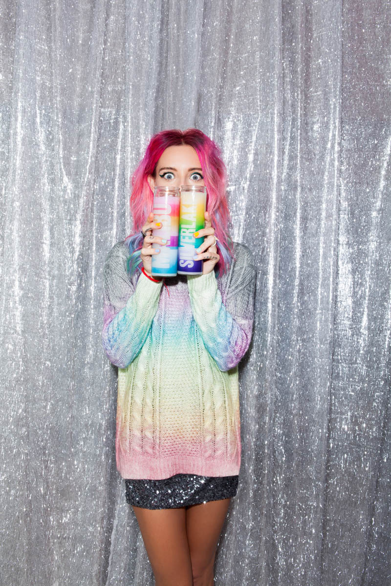 nasty gal gift shop11 Chloe Norgaard Models Neon Style for Nasty Gals Gift Lookbook