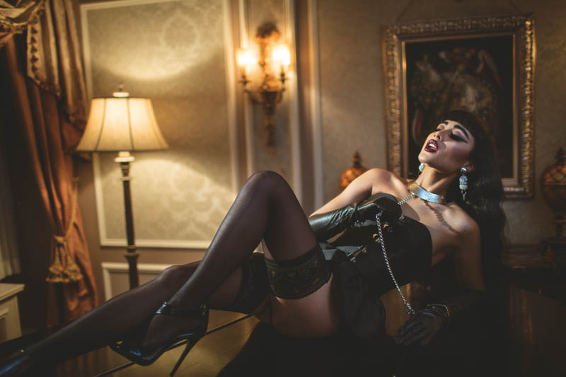 natalia kills1 Natalia Kills Seduces in Lingerie for XOXO The Mags Dec/Jan Issue