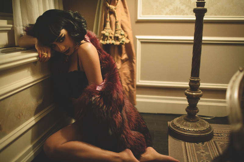 natalia kills3 Natalia Kills Seduces in Lingerie for XOXO The Mags Dec/Jan Issue