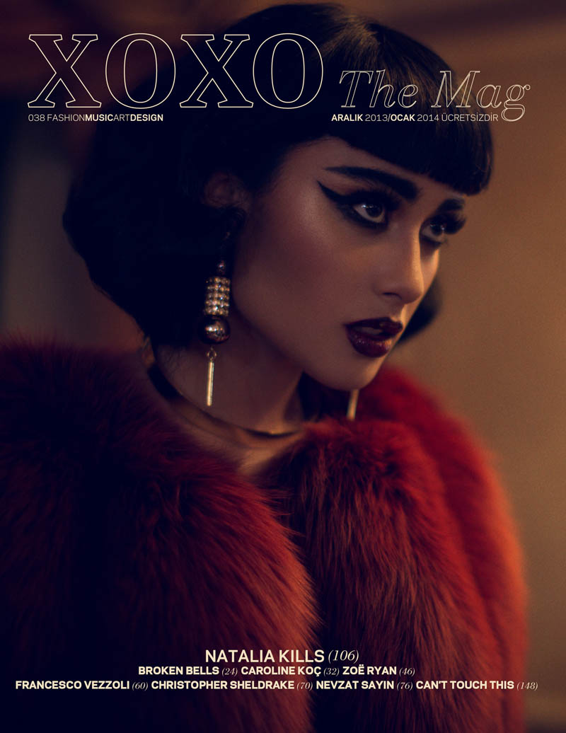 natalia kills6 Natalia Kills Seduces in Lingerie for XOXO The Mags Dec/Jan Issue