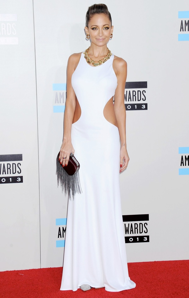 nicole richie emilio pucci Taylor Swift, Katy Perry, Miley Cyrus + More Star Style at the 2013 AMAs