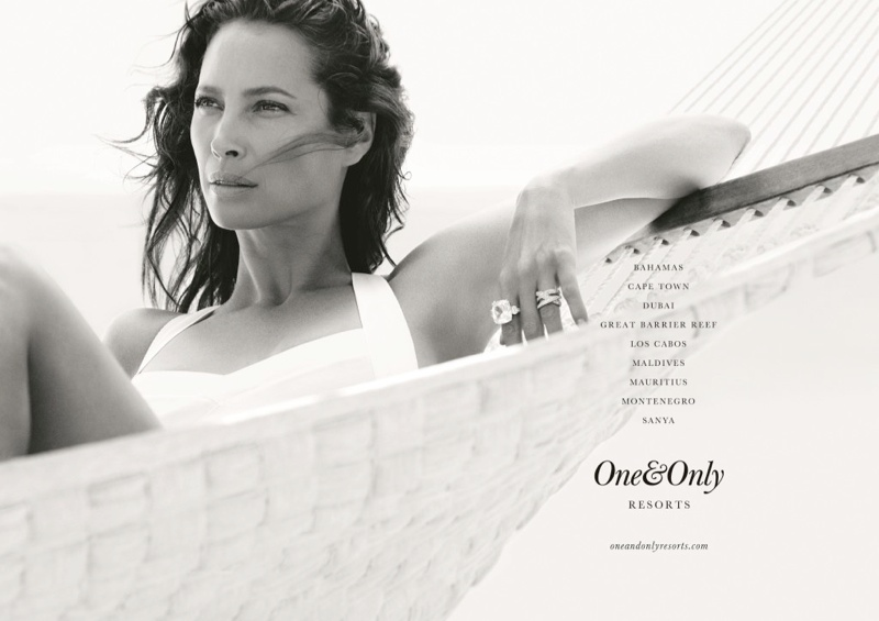 one only resorts1 Christy Turlington Stars in One&Only Resorts Campaign