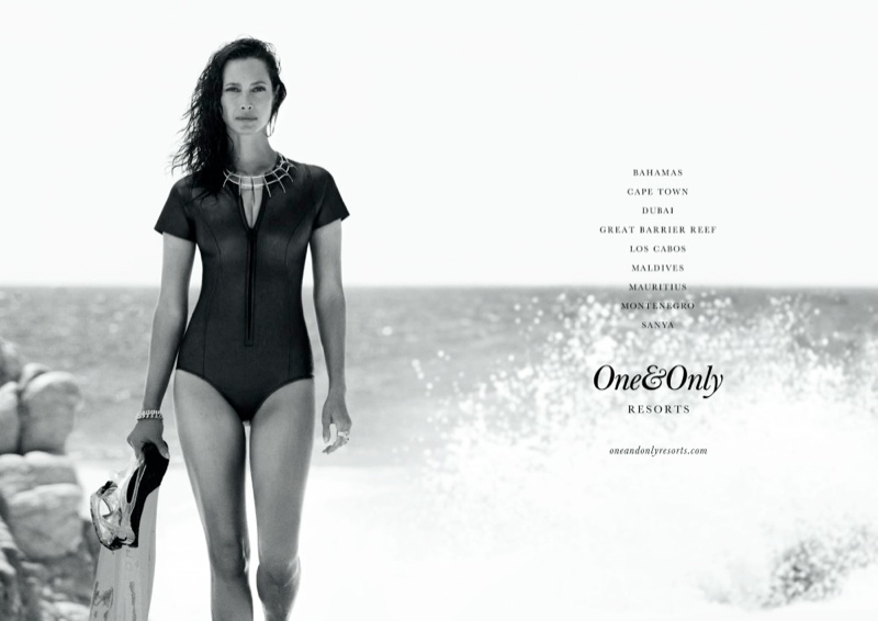 one only resorts4 Christy Turlington Stars in One&Only Resorts Campaign