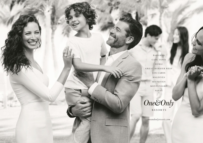 one only resorts5 Christy Turlington Stars in One&Only Resorts Campaign