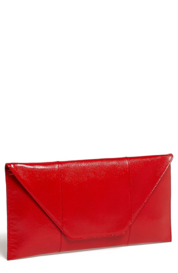 patent leather clutch 8 Clutch Bags for the Modern Wardrobe