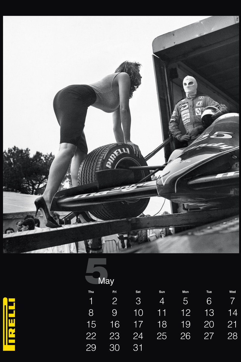 pirelli helmut newton1 Pirelli Features Vintage Helmut Newton Photos for 2014 Calendar